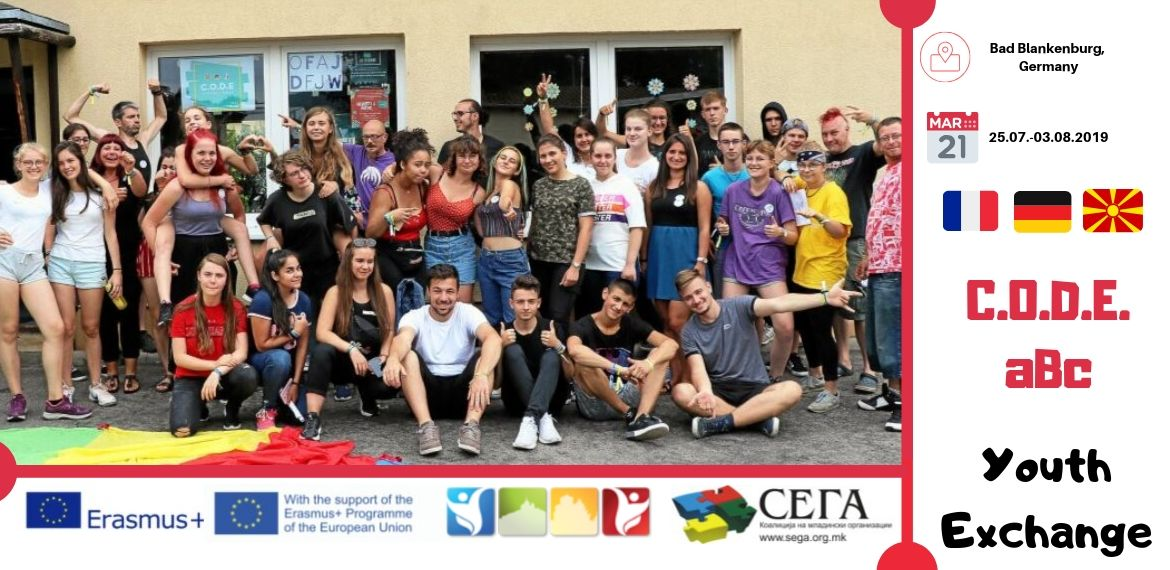 Youth Exchange Was Held Within the Project C.O.D.E. aBc in Bad Blankenburg, Germany