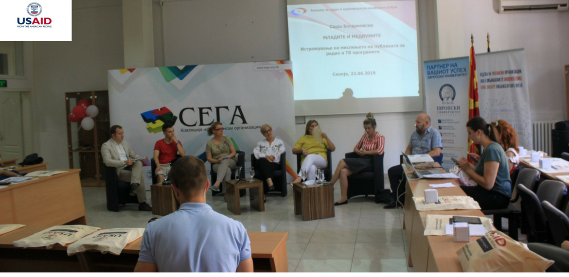 "Coalition SEGA held Panel Discussion on ""Youth and Media"""