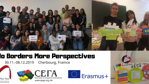 Participants of Coalition SEGA attended on Training for Youth Workers in France