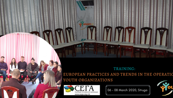 TRAINIG: EUROPEAN PRACTICES AND TRENDS IN THE OPERATION OF YOUTH ORGANIZATIONS